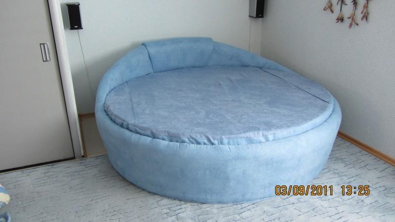 Сделать круглую кровать своими руками